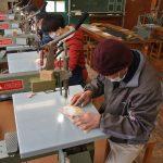 ウッドライフ教室 糸鋸で作るペーパーカップホルダー開催しました。